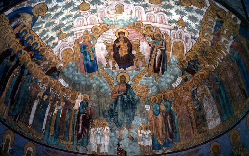 Фресковая роспись троицкого собора